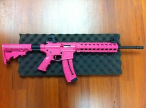 Customized Pink Rifle